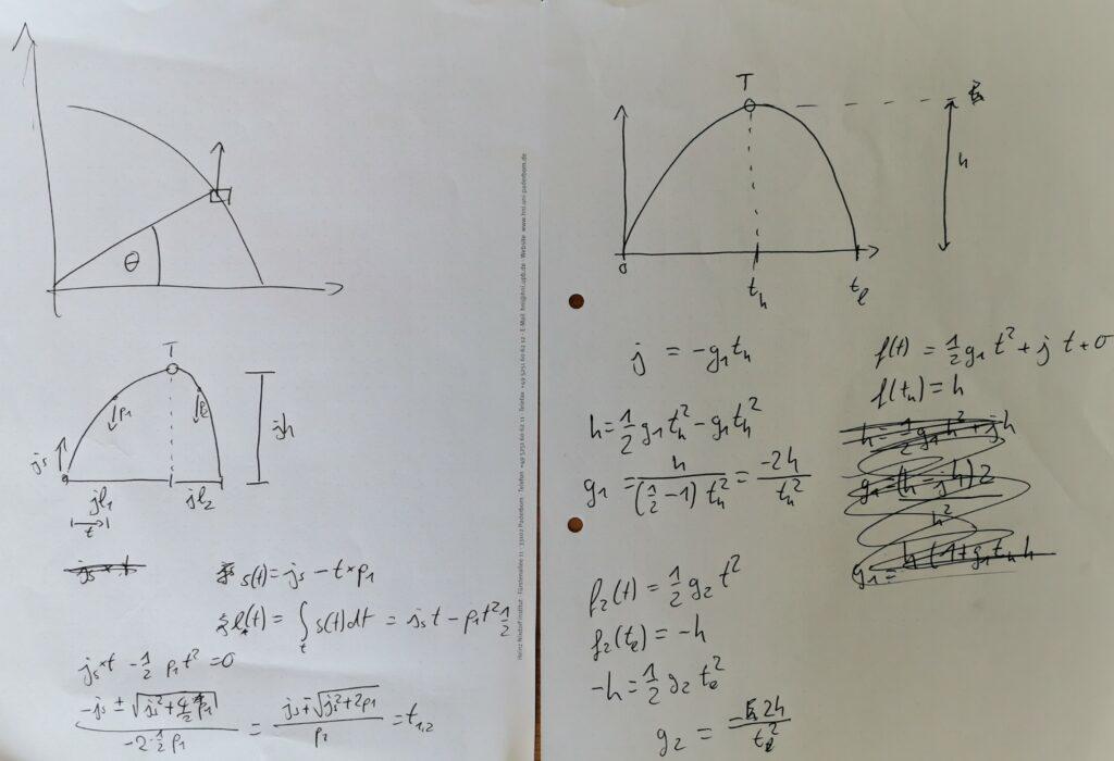 Jump calculations.