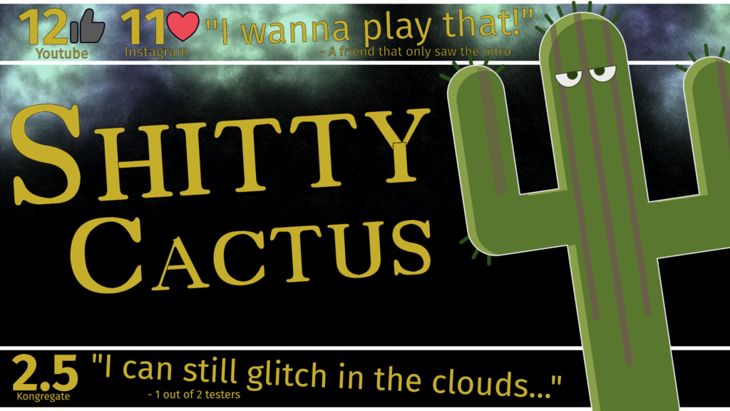 Shitty Cactus Fake release ad.