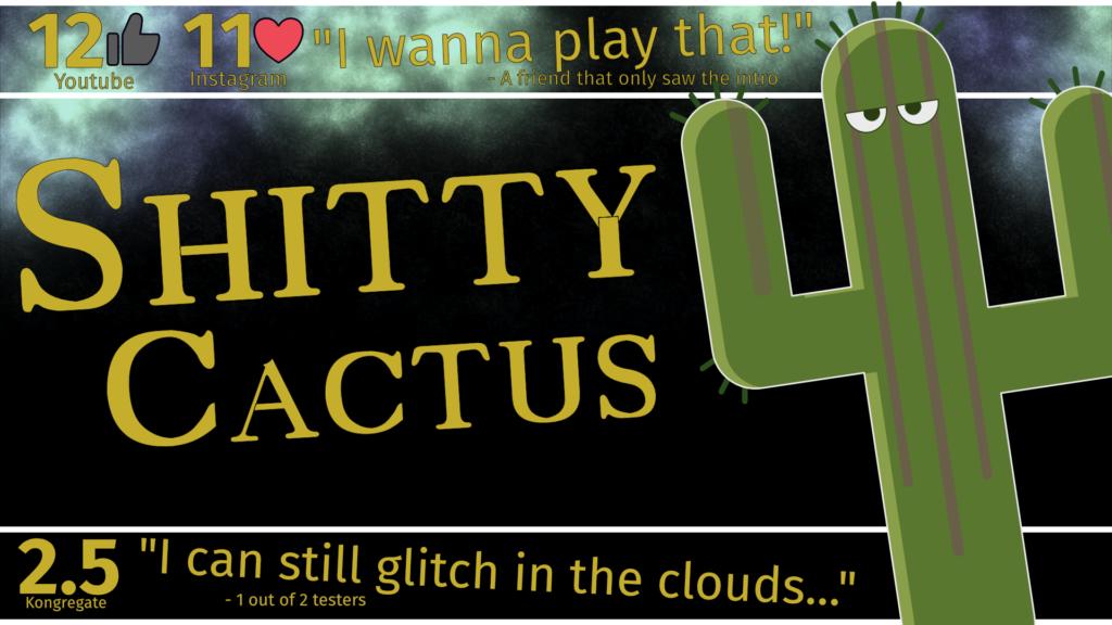 Shitty Cactus Fake release ad.